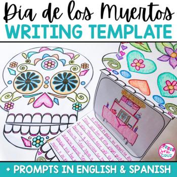 Día de los Muertos / Day of the Dead Writing Template by Sra Cruz