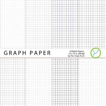 FREE Graph Paper Background 8 Digital Papers by The Triple Point - digital graph paper