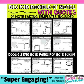 Doodle-It Notes Templates \