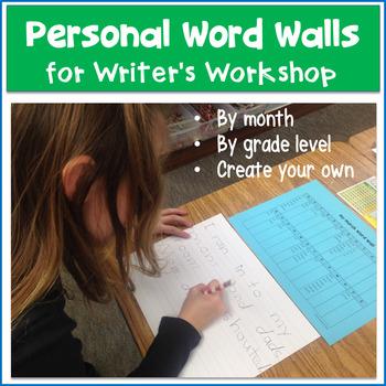 Personal Word Wall Kindergarten Teaching Resources Teachers Pay