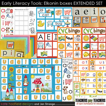 Elkonin Boxes Worksheet Teachers Pay Teachers