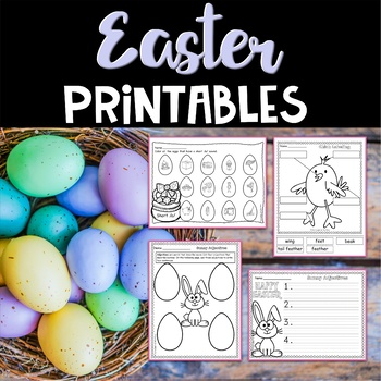 Easter Worksheets and Printables by Marlie Rose TpT
