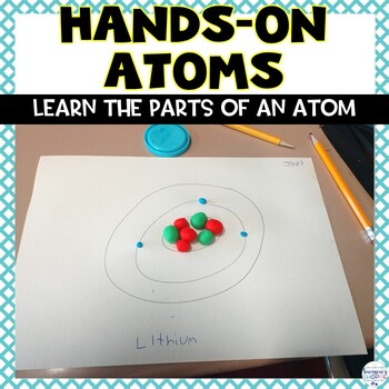 Parts of an Atom Edible Activity by Samson\u0027s Shoppe TpT