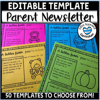 tptfireworks Weekly Newsletter Template Editable - Parent Newsletters - weekly newsletter template