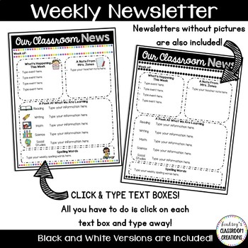 weekly newsletter templates - Funfpandroid