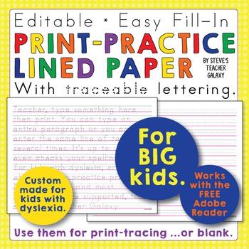 Editable Print Handwriting Worksheets Teaching Resources Teachers