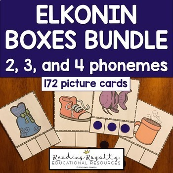 Blank Elkonin Boxes Teaching Resources Teachers Pay Teachers