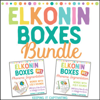Elkonin Boxes Blends Teaching Resources Teachers Pay Teachers
