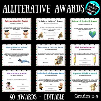 Math Awards Editable Teaching Resources Teachers Pay Teachers