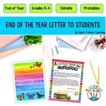 Goodbye Letter To Students Worksheets  Teaching Resources TpT