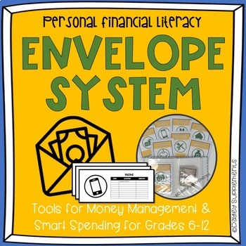 Envelope System - Budget - Financial Literacy by Dayley Supplements