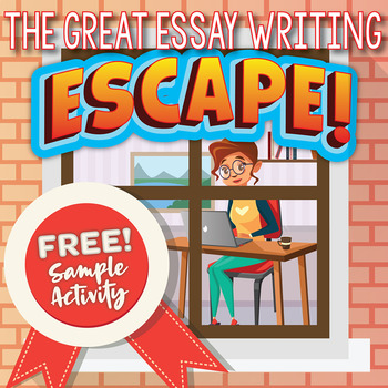 Essay Writing ESCAPE ROOM Activity (Parts of an Essay) FREE! TpT - parts of an essay
