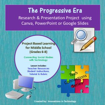 Events Of The Progressive Era - Research  Presentation Project In Prezi