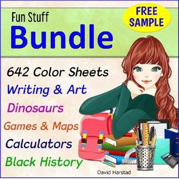 FREE Bundle Sample Writing Paper with Drawing Box + Tournament Brackets
