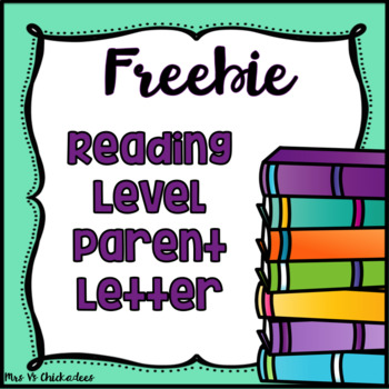 FREEBIE! Fountas  Pinnell Parent Letters { Reading Level and - guided reading lesson plan template fountas and pinnell