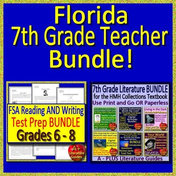 FSA Reading, FSA Writing and HMH Collection 4 - Florida 7th Grade