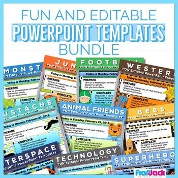 Fun Powerpoint Templates Teaching Resources Teachers Pay Teachers
