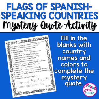 Flags Of Spanish Speaking Countries Coloring Sheets By Sra