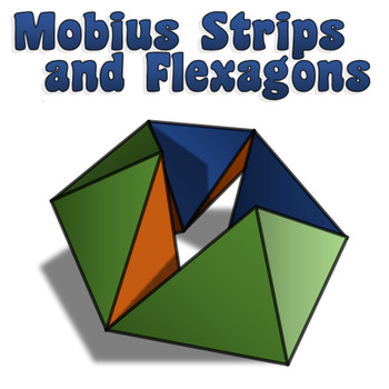 Flexagons and Mobius Strips Activity w/ Template by Emily P K TpT - hexaflexagon template