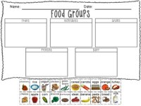 Food Groups Printable! by Organized Chaos | Teachers Pay ...