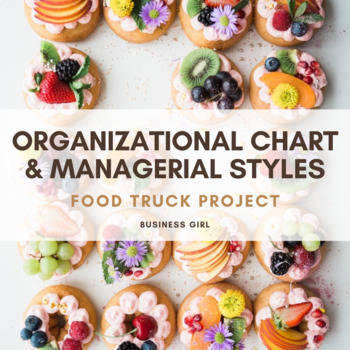 Food Truck Organizational Chart by Business Girl TpT - business organizational chart