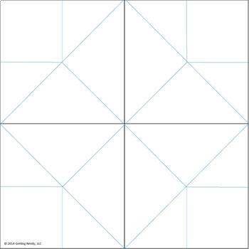 Fortune Teller / Cootie Catcher Blank Editable Template TpT