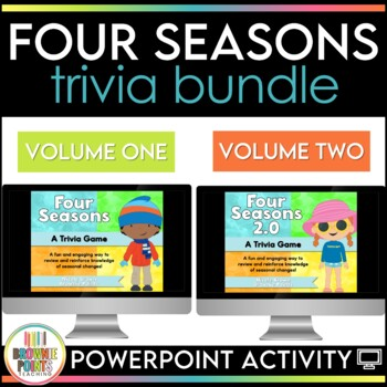 Four Seasons PowerPoint Game by BrowniePoints Teachers Pay Teachers