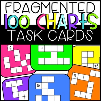 Fragmented Hundreds Chart by Ashleigh Teachers Pay Teachers - hundreds chart