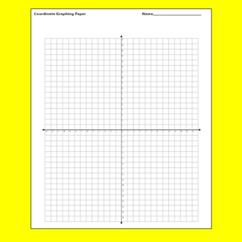 Free Graph Paper (9 Version Pack) by Mike\u0027s Math Market TpT