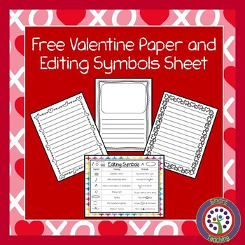 Free Writing Paper and Editing Sheet by Smart Teaching TpT