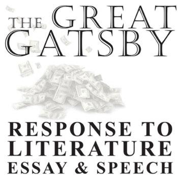 THE GREAT GATSBY Essay Prompts  Grading Rubrics