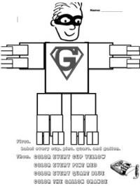 Gallon Man Worksheet! by Panda Money   Teachers Pay Teachers