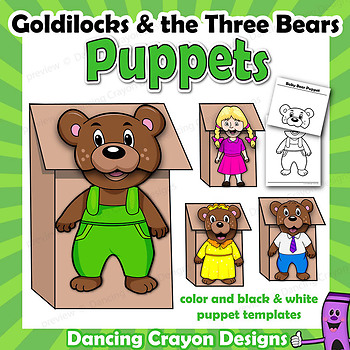 Goldilocks and the Three Bears by Dancing Crayon Designs TpT