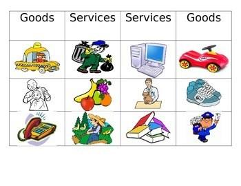 Goods And Services Worksheet Kindergarten. Goods. Best