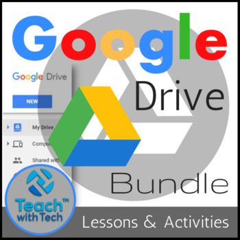 Google Drive Lessons \ Activities Bundle by Gavin Middleton TpT - office newsletter