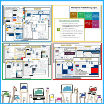 Google Drive Lessons \ Activities Bundle by Gavin Middleton TpT - info sheet template