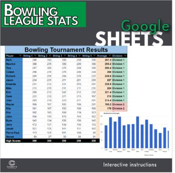 Bowling Score Sheet Worksheets  Teaching Resources TpT