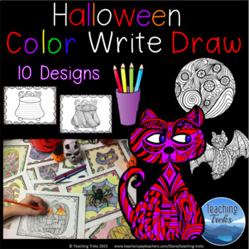 Halloween Craft Halloween Coloring Pages and Halloween Writing Paper