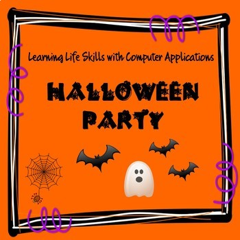Budgeting a Halloween Costume Party by Proven Computer Lessons TpT