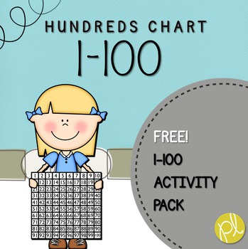 Hundreds Chart FREE Printables by Positively Learning TpT