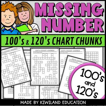 120 Number Chart Teaching Resources Teachers Pay Teachers