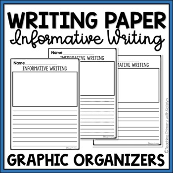 Lined Writing Paper With Picture Box Worksheets  Teaching Resources
