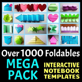 Interactive Notebook Templates (1000+ Editable Foldables - online quiz templates