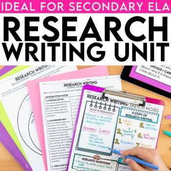 Research Paper Writing PowerPoint, Resources, MLA Format TpT