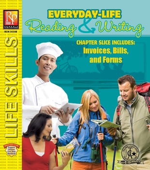 Invoices, Bills,  Forms Everyday-Life Reading  Writing Practice