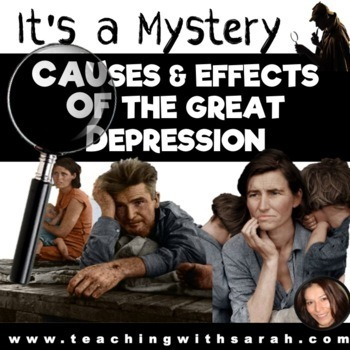 It\u0027s a Mystery The Great Depression Causes and Effects by Sarah Austin