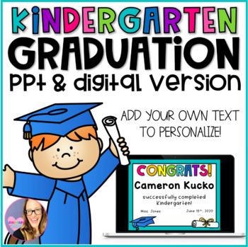 Kindergarten Graduation Editable Diplomas, Invitations, and Memory