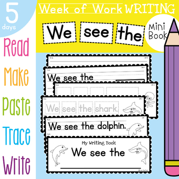 Printable Writing Activities Book - Ocean / Under the Sea Theme TpT