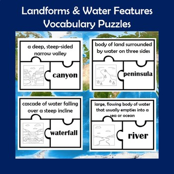 Landforms And Water Features Teaching Resources Teachers Pay Teachers