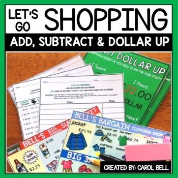 Shopping Worksheets Teaching Resources Teachers Pay Teachers